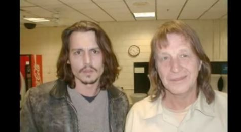 George Jung, right, and Johnny Depp in a file photo. (GeorgeJung.com)