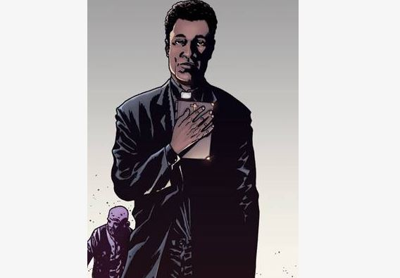 Father Gabriel in The Walking Dead comic book series.
