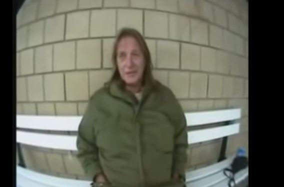 """George Jung while being interviewed after the release of the movie """"Blow."""" (YouTube)"""