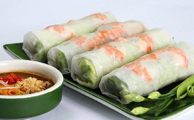 Vietnamese goi-cuon dish  (Image via anan-vietnam.com)