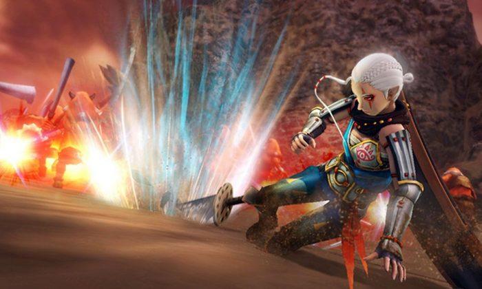A screenshot from Hyrule Warriors (Nintendo.com screenshot)