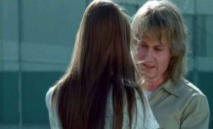 "George Jung as portrayed in the movie ""Blow,"" with his daughter. (YouTube)"
