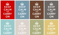 Keep Calm and Carry On Conquered the World, but It Was Too Mundane for World War II