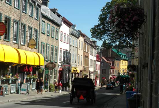 Quebec City treasures its French roots and has a European feel. Photo by Janna Graber (Go World Travel)