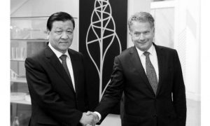 Liu Yunshan, Chinese Official Visiting Europe, Said to be Administrator of Violence