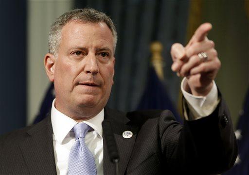 Mayor Bill de Blasio (AP Photo/Seth Wenig, File)