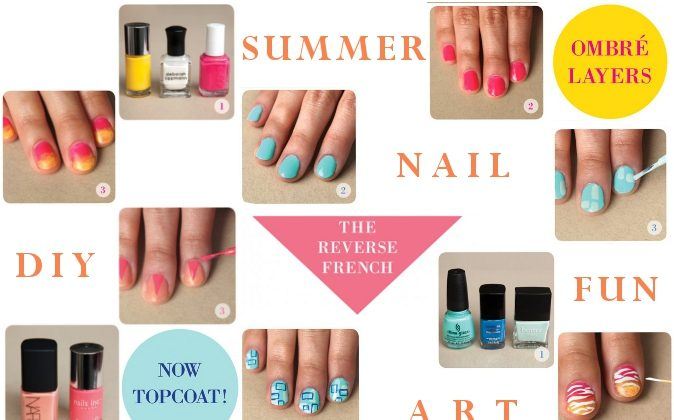 Nail art inspiration for this summer. (Mochi Magazine, Epoch Times)