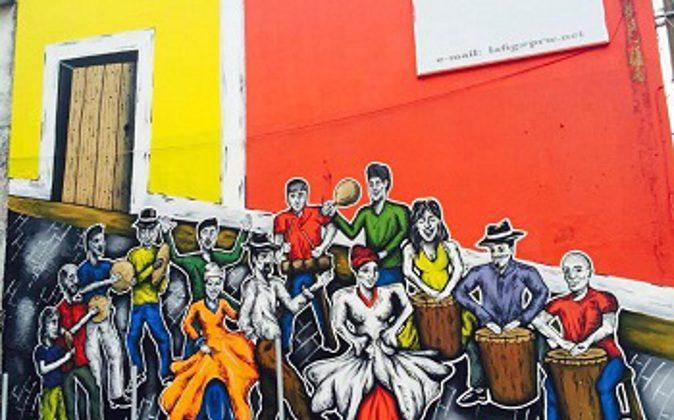 Original street art in San Juan Puerto Rico. Sarah Robertson photos. (Go Nomad)