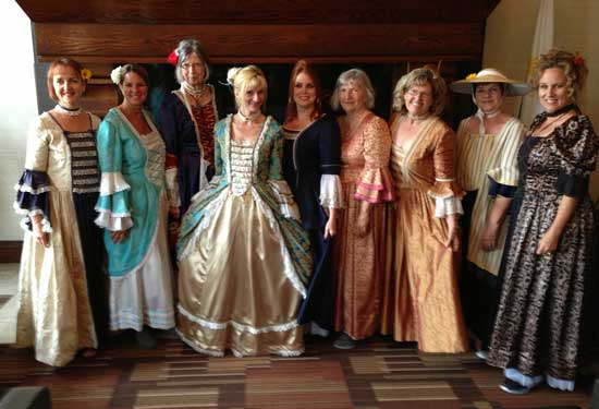 Getting all dressed up for the New France Festival in Quebec City. Photo by Bill King (Go Morld Travel)