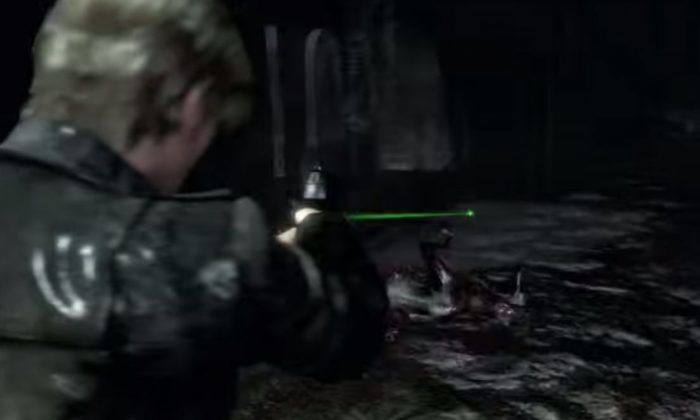 (Resident Evil 6 screenshot)