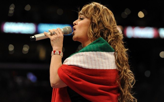 Jenni Rivera in a file photo. Her father has dismissed a video that allegedly includes a warning to Rivera before she died. (Getty Images)