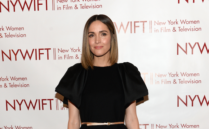 NEW YORK, NY - JUNE 18: Actress Rose Byrne attends the 2014 New York Women In Film And Television 'Designing Women' Awards Gala at McGraw Hill Building on June 18, 2014 in New York City. (Photo by Dimitrios Kambouris/Getty Images)