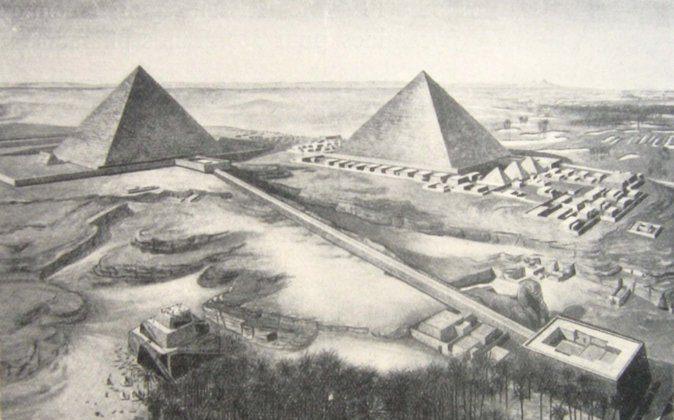 The Great Pyramid of Giza. (Wikimedia)