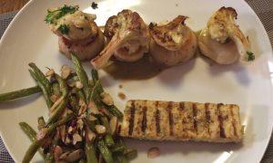 Recipe: Seared Scallops With Caper-Raisin Sauce