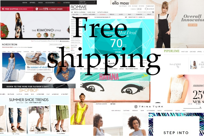 10 Online Clothing Stores That Always Have Free Shipping