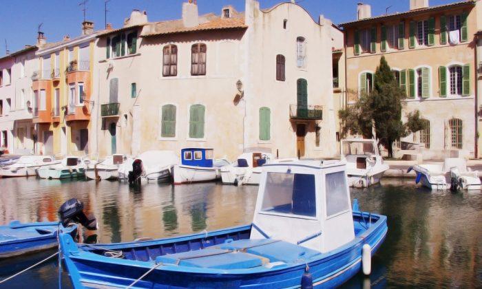 The resort town of martigues, Marseilles France. (*Shutterstock)