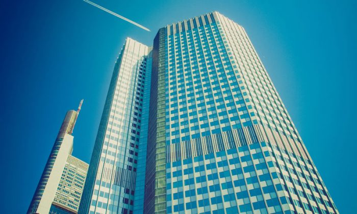 The European Central Bank (ECB) in Frankfurt, Germany. (Shutterstock*)