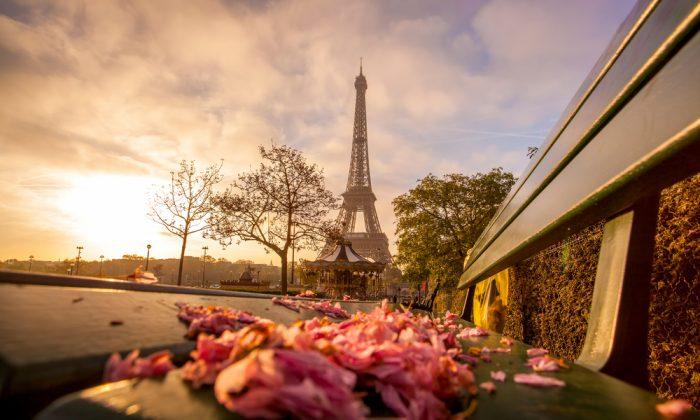 Eiffel Tower in Paris, France. (*Shutterstock)