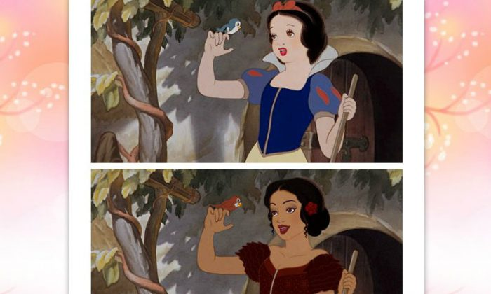 Snow White. (Disney/Let There Be Doodle)