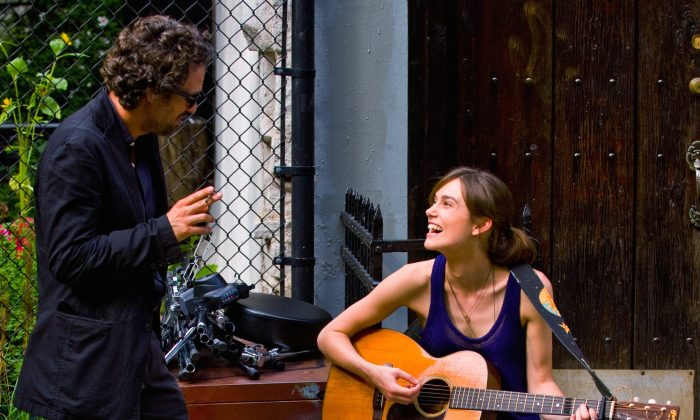 "Mark Ruffalo and Keira Knightley play a music-making odd-couple in ""Begin Again."" (Weinstein Co.)"