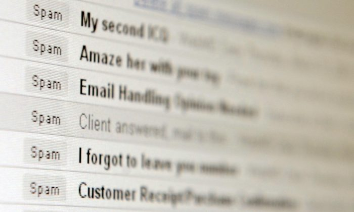 New anti-spam legislation coming in effect on July 1 means that businesses have to get written or oral consent before sending emails or other digital messages to consumers. (Mike Clarke/AFP/Getty Images)