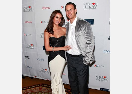 TV personality Katie Cleary and Andrew Stern in a file photo. (Charles Eshelman/Getty Images)