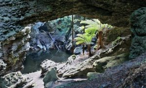 Trowutta Arch in Tasmania