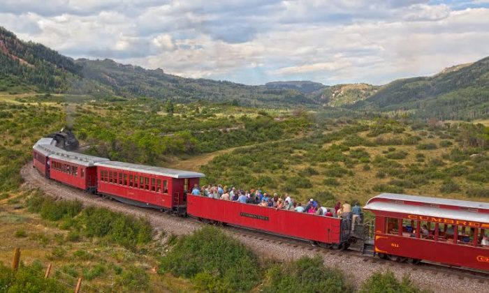 Cumbres & Toltec Scenic Railroad in New Mexico and Colorado. (Go Nomad)