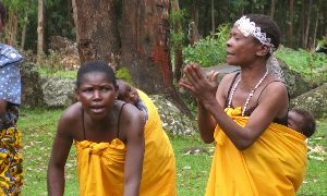 Blowing Blues with Batwa Pygmies in Uganda