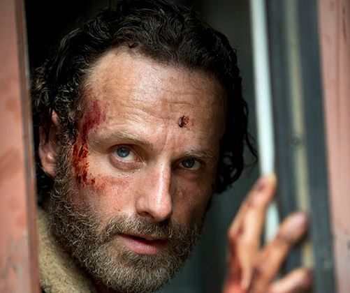 Rick Grimes (Andrew Lincoln) in The Walking Dead season 5. (Gene Page/AMC)