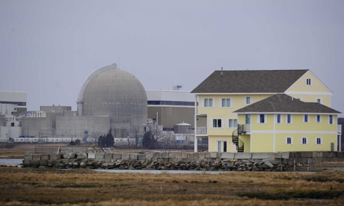 A view of the Seabrook Nuclear Power Plant in Seabrook, New Hampshire, on March 21, 2011. (Emmanuel Dunand/AFP via Getty Images)