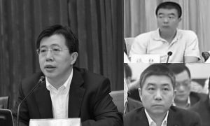 Three Officials Tied to Former Chinese Security Boss Purged