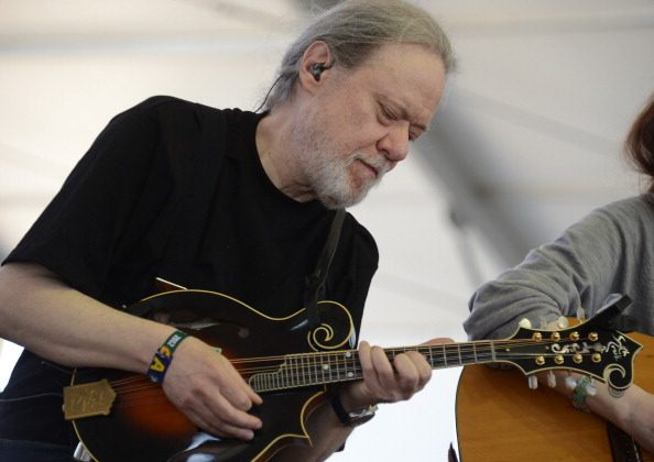 Tommy Ramone of the duo Uncle Monk performs on stage at the Stagecoach Country Music Festival at The Empire Polo Club on April 29, 2012 in Indio, California.  Uncle Monk?s music is rooted in old-time and bluegrass influences.   AFP PHOTO / ROBYN BECK        (Photo credit should read ROBYN BECK/AFP/GettyImages)