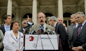 New York Officials Hold Pro-Israel Rally Outside City Hall