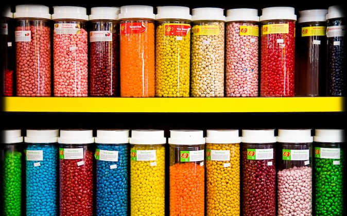 How many beans are in those jars? (Flickr/jsrcyclist , CC BY-NC-ND)