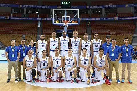 The Gilas Philippines squad. (Gilas Philippines)