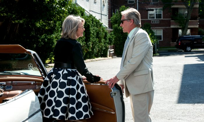 "Diane Keaton and Michael Douglas in ""And So It Goes."" (Clarius Entertainment)"