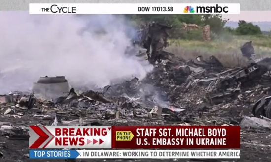 MSNBC Prank Call Malaysia Airlines: Howard Stern Referenced in Crude Flight MH17 'Analysis' (+Video)