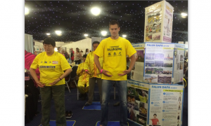 Falun Gong Participate in Leeds Health Festival