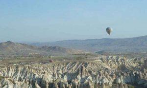 Flying a Hot Air Balloon in Cappadocia, Turkey