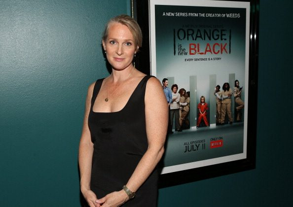 Author Piper Kerman attends the Netflix Presents 'Orange Is The New Black' Special Screening at AMC Loews Broadway 4 on June 17, 2013 in Santa Monica, California. (Photo by Jesse Grant/Getty Images for Netflix)