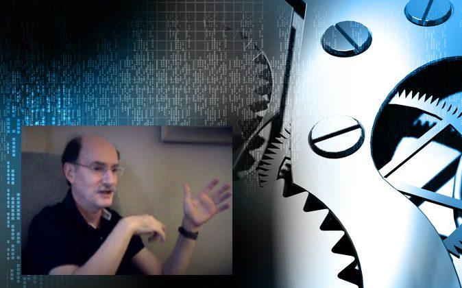 Left: Dean Radin (Screenshot/metaRising/YouTube) Background image via Shutterstock*