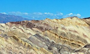 Death Valley California: The Innards of the Earth