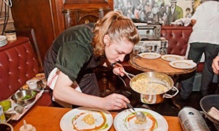 Chef Nicole Karr at Culinary Fight Night (Nicole Karr)