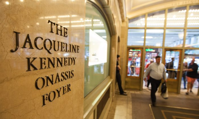 The Jacqueline Kennedy Onassis Foyer at the Grand Central Terminal, Manhattan, New York, June 30, 2014. (Petr Svab/Epoch Times)