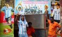 Soccer Fans Go Wild on India's West Coast