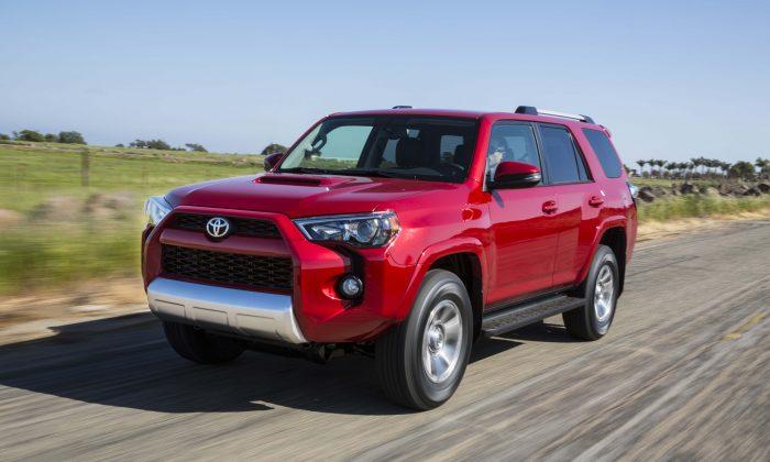 2014 Toyota 4Runner Trail (Courtesy of Toyota)