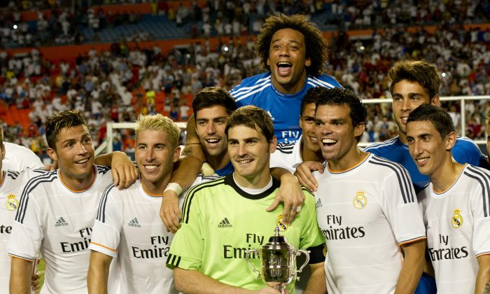 International Champions Cup 2014: Live Stream, TV Channel