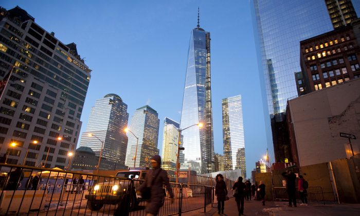 The World Trade Center in New York on Jan. 9, 2014. (Samira Bouaou/Epoch Times)