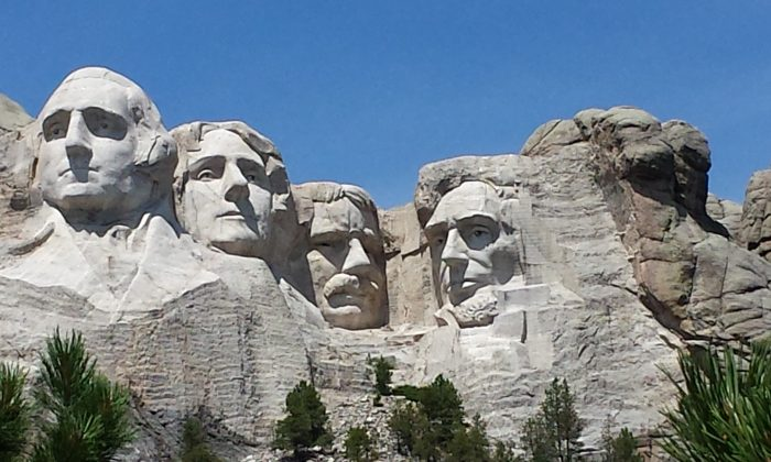 Mount Rushmore National Memorial in the Black Hills of South Dakota. (John Nania/Epoch Times)